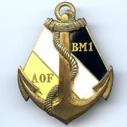 Bataillon de Marche n° 1 AOF