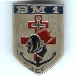 BM 1 AEF / 1° DFL, en...