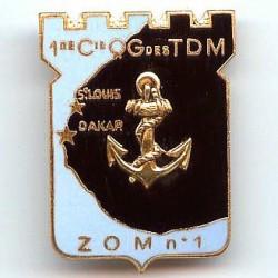 1° Cie de QG des TDM ZOM n° 1