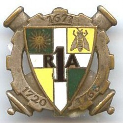 1° RAD, 1671-1720-1763, dos...