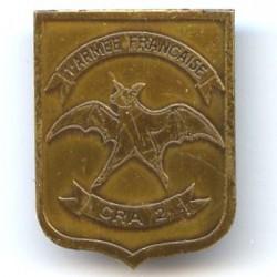 CRA 2 / 1° Armée Française,...