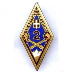 2° Rgt d' Artillerie, fond...