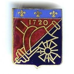 4° RA, 1720, bleu roi, Ab...