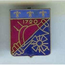 4° Rgt d' Artillerie, 1720,...