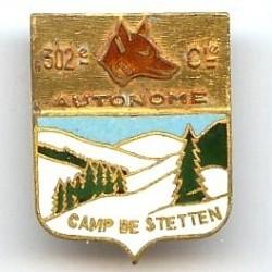 302° Cie Autonome Camp de...