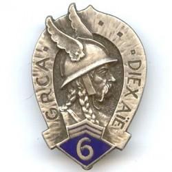 6° GRCA, tête de gaulois