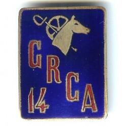 14° GRCA, tête de cheval