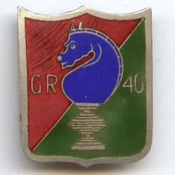 40° GR(DI), cavalier d'...