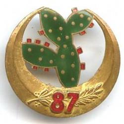 87° GRDI (insigne de la 87°...