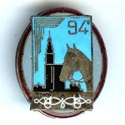 94° GRDI, émail, argenté,...