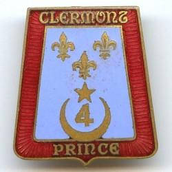 4° RCC, croissant, doré,...