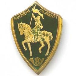 8° RCC, émail, Jeanne d'Arc...