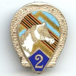 2° RCA, fer à cheval et tête
