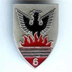 6° RCA, 7 flammes,...