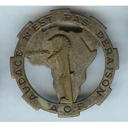 12° RCA AOF, dos guilloché,...