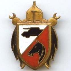 2° RSA, tête cheval noire...
