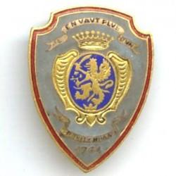 3° Rgt de Hussards, émail,...