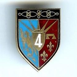 4° Rgt de Hussards, plat,...
