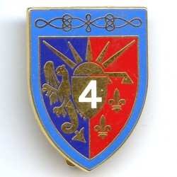4° Rgt de Hussards, griffon...