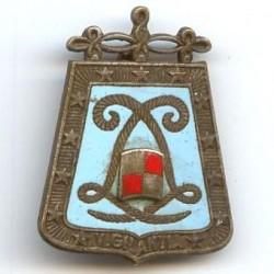 5° Rgt de Hussards, émail,...