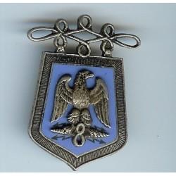 8° Rgt de Hussards, émail,...