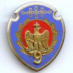 9° Rgt de Hussards, écu...