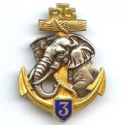 3° RTS, éléphant argenté,...