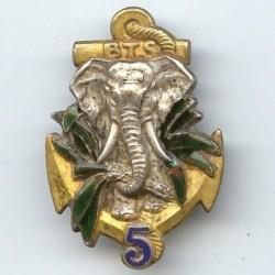5° Bataillon de Tirailleurs...
