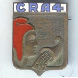 CRA 4, 1939-1945, bleu clair