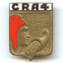 CRA 4, 1939-1945, bleu fonçé