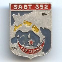 SABT 352 / CEF 1° Armée...