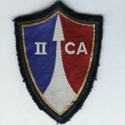 2° Corps d' Armée, tissu