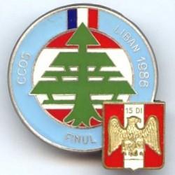 15° DI / CCOS Liban 86, au...