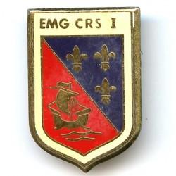 EMG CRS I, résine