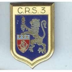 CRS 3, épingle et boléro...