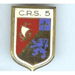 CRS 5, dos lisse, émail à...