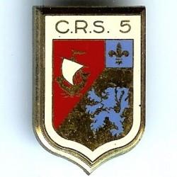 CRS 5, en deux pièces,...