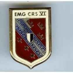 EMG CRS VI, rouge bordeaux