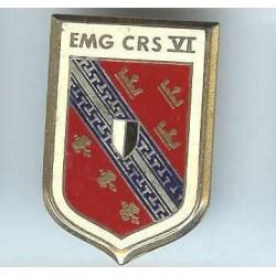 EMG CRS VI, rouge vif, résine