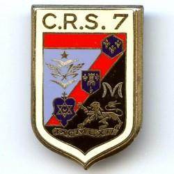 CRS 7  Deuil-la-Barre , dos...
