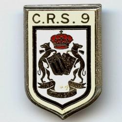 CRS 9, dos guilloché, résine