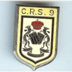 CRS 9, dos lisse, résine