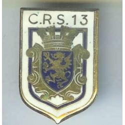 CRS 13, dos guilloché, résine
