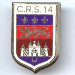 CRS 14, château, résine