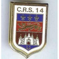 CRS 14, château, résine, en...