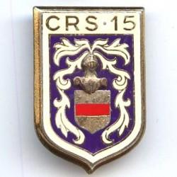 CRS 15, dos guilloché, résine