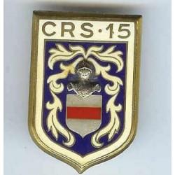 CRS 15, dos lisse, émail à...