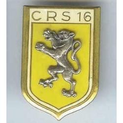 CRS 16, dos lisse, résine