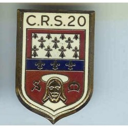 CRS 20, émail à froid
