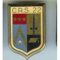 CRS 22  Périgueux , en deux...